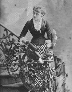 Edith Wharton (1884). Belle Epoque 1900's: flickr.com/photos/belle_epoque_1900s/1469793758/
